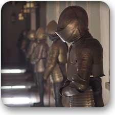 Massive medieval Armor Training
